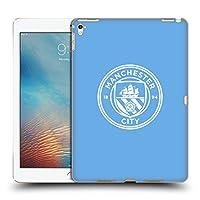 オフィシャルManchester City Man City FC ブルー&ホワイト モノクロ バッジ iPad Pro 9.7 (2016) 専用ハードバックケース