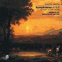 Haydn: Symphonies Nos 6-8 * Le Matin, Le Midi, Le Soir /Freiburger Barockorchester