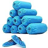 靴カバー 使い捨て 100枚入(50足) シューズカバー 不織布 足カバー フリーサイズ ブール 通気性良い 環境にやさしい 家 医療用 足カバー 介護用 フリーサイズ 事務所 実験室な 男女兼用