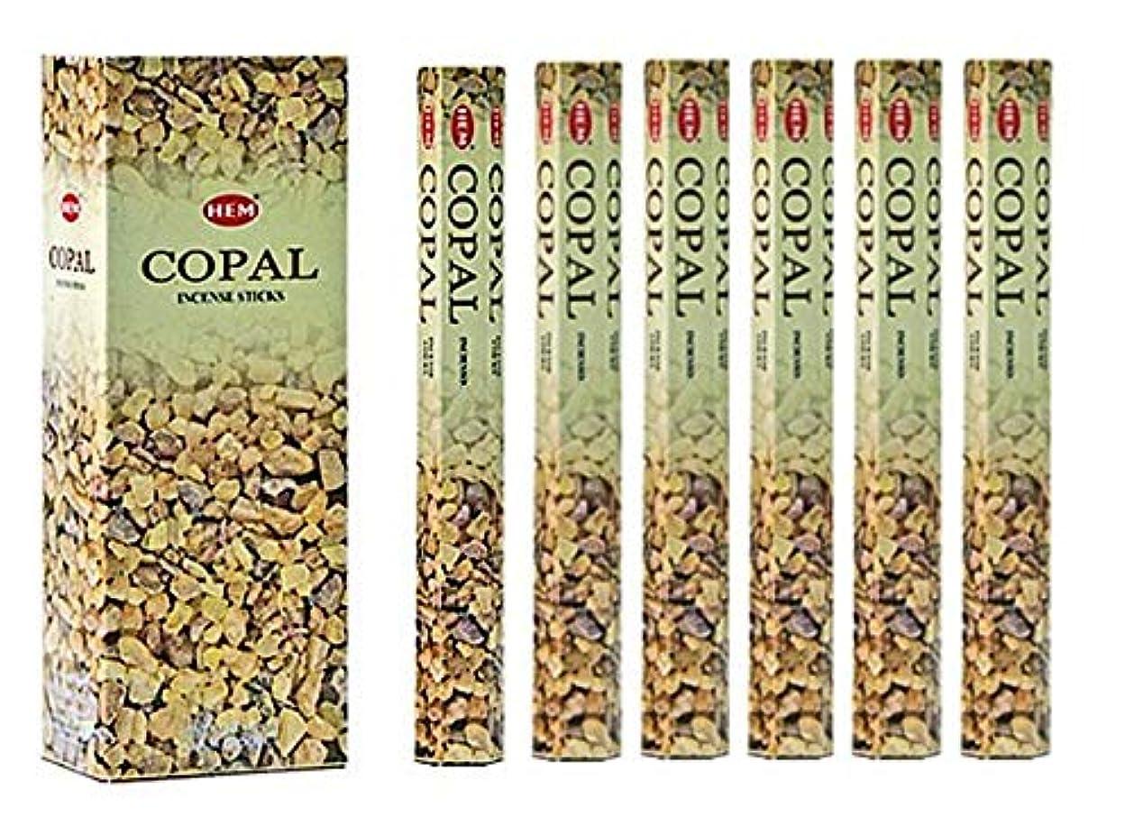 カイウス収束するパステルHEM(ヘム)社 コーパル香 スティック COPAL/ 6箱セット