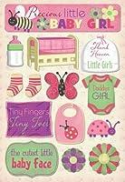 Karen Foster 10983 Design Acid and Lignin Free Scrapbooking Sticker Sheet, Daddy's Girl