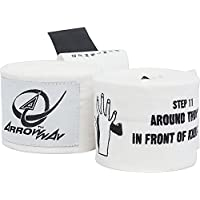 Arrowway Instructional Hand Wraps w / Printed Directions for Boxing & MMA – 142