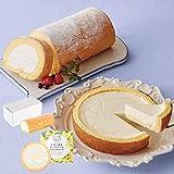 【お中元ギフト】 堂島バニラロール&レモン香るチーズケーキ Q23-6