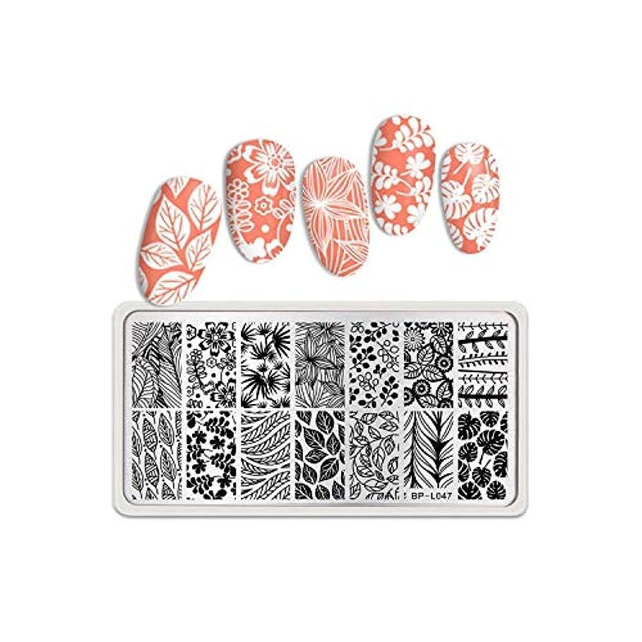 スキム加速度不安定な生まれたかわいい長方形ネイルスタンピングプレートステンレス鋼花糸蝶ローズネイルアートイメージステンシルデザインツール,BP-L047
