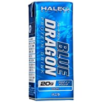 (HALEO) ブルードラゴン 1パック(200ml) x1ケース(24パック入り) バニラ