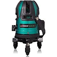 VOICE フルライングリーンレーザー墨出し器 VLG-8X メーカー1年保証 フルライン照射モデル【標準セット】