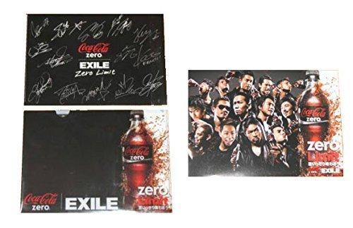 EXILE コカコーラZERO クリアファイル&ポスター 2...