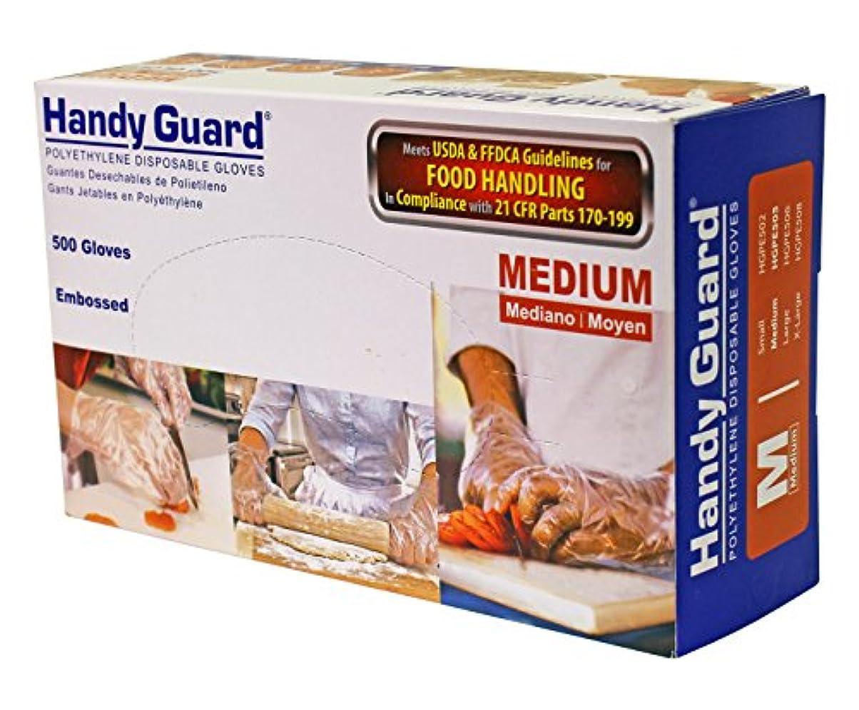 いろいろオセアニア存在Adenna Handyガードポリエチレン500手袋 M HGPE505