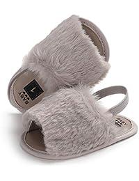 Sylvamorning 女の子サンダル ベビーシューズ 子供靴 赤ちゃん靴 幼児スリッパ 夏靴 柔らかい 滑り止め キッズサンダル キッズシューズ ベビーシューズ ガールズシューズ