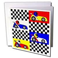3D ローズグリーティングカード 封筒付き 1セット Individual Greeting Card