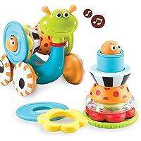 ユーキッド はいはいを促進 とことこかたつむり ミュージックおもちゃ 知育玩具
