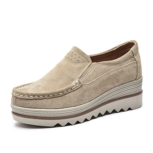 [NEOKER] レディースシューズ 厚底 サンダル ウエッジソール 厚底靴 スニーカー ローカット 美脚 履きやすい 歩きやすい 疲れない プラットフォーム 看護師 婦人靴 身長アップ 春夏用 KH38