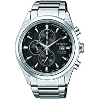 Citizen Eco-Drive Mens Super Titanium Chronograph Watch CA0650-82F