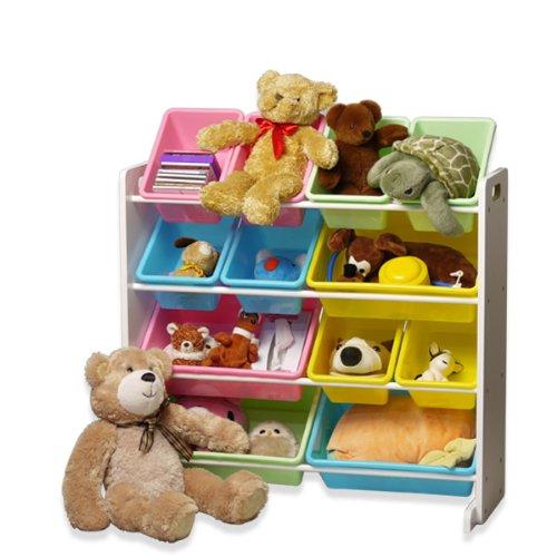 RoomClip商品情報 - [おかたづけ上手] おもちゃ箱4段 パステル 「大好きおもちゃを楽しくおかたづけ」