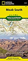 National Geographic Trails Illustrated Map Moab South Utah