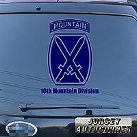 3s MOTORLINE 10th Mountain Division US Armyデカールステッカー車ビニールPickサイズカラーDie Cut No背景A 24'' (61.0cm) ブラック 20180326s8