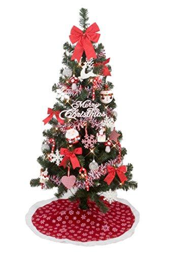 クリスマス屋 クリスマスツリー 120cm 北欧 ノルディック ツリーセット