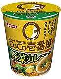 エースコック タテ型CoCo壱番屋監修 野菜カレーラーメン 71g×12個