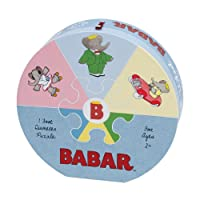 Babar Deluxe Puzzle Wheel
