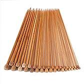 和風編み棒 2.0~10.0mm 竹製編み針 お買い得まとめセット★18サイズ 36本セット★