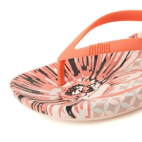 3980fd09d1589 (フィットフロップ) FitFlop レディースシューズ・靴ビーチサンダルLqushion Wedge Flip Flops  並行輸入品