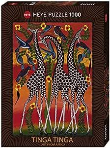 HEYE Puzzle  ヘイパズル  29426  Tinga Tinga  :  Giraffes  (1000 pieces)