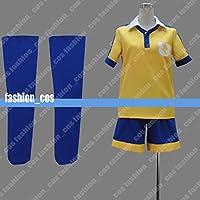 男性Mサイズ QK077 イナズマイレブンGO 雷門中学校サッカーフォーム 松風天馬 コスプレ衣装