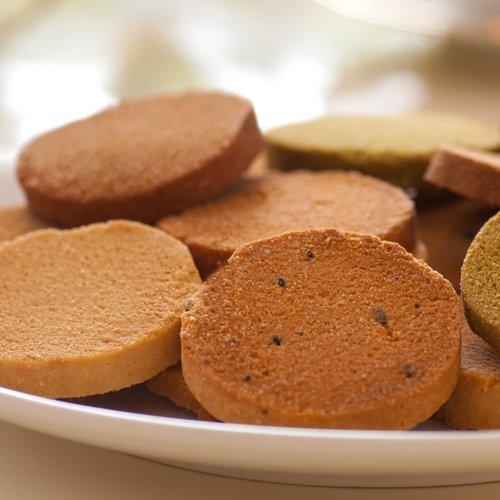 超低糖質!砂糖・小麦粉ゼロ♪かたうMAX!ホオリイの豆乳おから100% クッキー マンナン入り