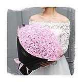 (99本ソープフラワー) 花束 バラ 石鹸 フラワー お祝い 誕生日 女性 プレゼント