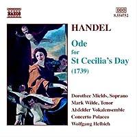 ヘンデル:聖セシリアの日のためのオード