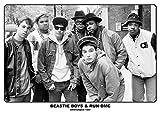 Beastie Boys &RUN-DMC Poster - Amsterdam 1987 (84cm x 59,5cm)