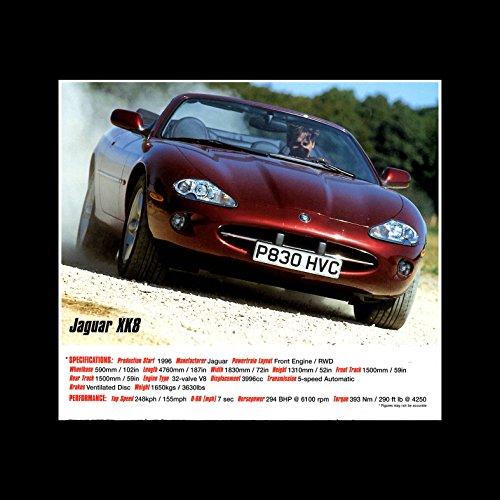 Top Gear - Supercars - JAguar XK8 Mini Poster - 40x40cm