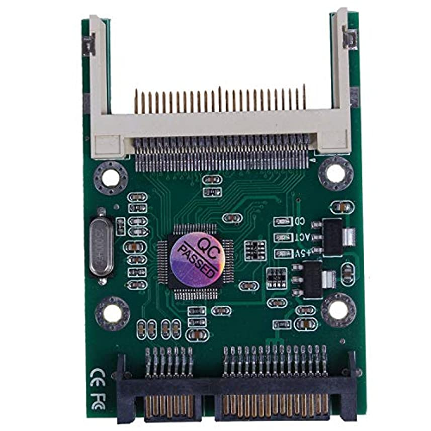 腹部次錆びSemoic 起動可能なコンパクトフラッシュCF I II?2.5インチSATAコンバータアダプター