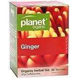 Planet Organic Ginger Herbal Tea 25 Teabags