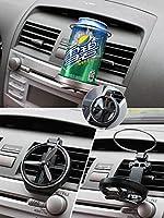 車のカップホルダー付きファンオート出口ドリンクホルダー折りたたみ飲料ボトルホルダースタンド車のスタイリングユニバーサルカーアクセサリー