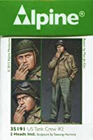 Alpine Miniatures アルパイン 1/35 WWII 米戦車兵 #2(M43ジャケット)