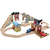 Thomas And Friends Wooden Railway - Quarry Adventures Set by Learning Curve [並行輸入品]