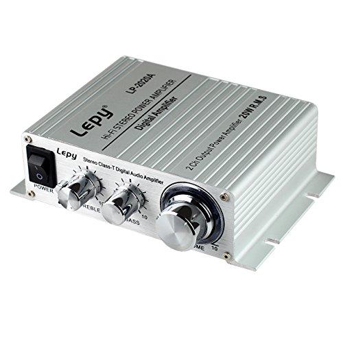 LEPY 高品質HIFI デジタルアンプ オーディオアンプ LP-2020A