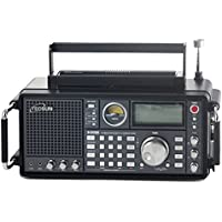 TECSUN S-2000 FMステレオ/AIR/LW/MW/SW SSB・エアバンド PLLシンセサイザーワールドバンドレシーバー 短波ラジオ プロフェッショナルBCL受信機 1000局プリセットメモリー デュアルコンバージョン ATSオートプリセット スリープタイマー アラーム アナログシグナルメーター 日本語マニュアル同梱