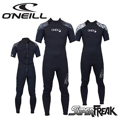 (オニール) ONEILL スーパーフリーク WF-4050 シーガル ウェットスーツ (BLK/V.BLK, Lサイズ)