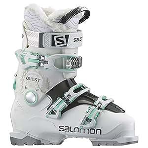 SALOMON(サロモン) スキーブーツ QUEST ACCESS (クエスト アクセス) 60 W L37814600 White (ホワイト) /ANTHRACITE TRANSLUCE (アントラシート トランスルーセント) /Light Gr (ライトグリーン) 23.5