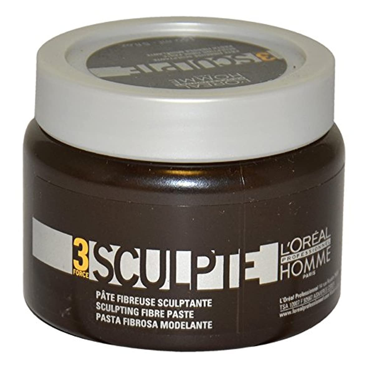 性的シャベルボスLoreal Men Force 3 Sculpting Fibre Paste 150ml [並行輸入品]