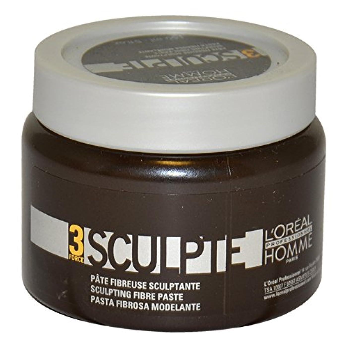 配管満たすブラシLoreal Men Force 3 Sculpting Fibre Paste 150ml [並行輸入品]