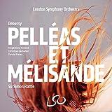 ドビュッシー : 歌劇 「ペレアスとメリザンド」 (全曲) (Debussy : Pelleas et Melisande / Sir Simon Rattle   London Symphony Orchestra) [3SACD Hybrid+Blu-ray Disc Audio] [Live Recording] [輸入盤] [日本語帯・解説・歌詞対訳付]