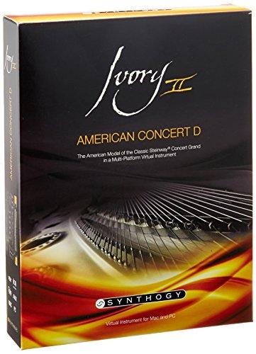 【正規輸入品】 Synthogy Ivory II American Concert D ピアノ音源 1951年ニューヨークスタインウェイD