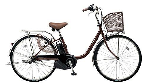 Panasonic(パナソニック) 2018年モデル ビビ・SX 26インチ カラー:チョコブラウン BE-ELSX63-T 電動アシスト自転車 専用充電器付