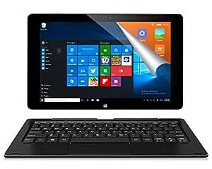ALLDOCUBE iwork10 Pro 2-in-1タブレットPC(キーボード付)、10.1インチ1920 x1200 IPSスクリーン、Windows 10+Android 5.1、Intel Atom X5 Z8350クアッドコア、4GB RAM、64GB ROM、USBタイプ-C、HDMI出力、ブラック