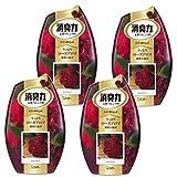 【まとめ買い】 お部屋の消臭力 消臭芳香剤 部屋用 部屋 うっとりローズアロマの香り 400ml×4個