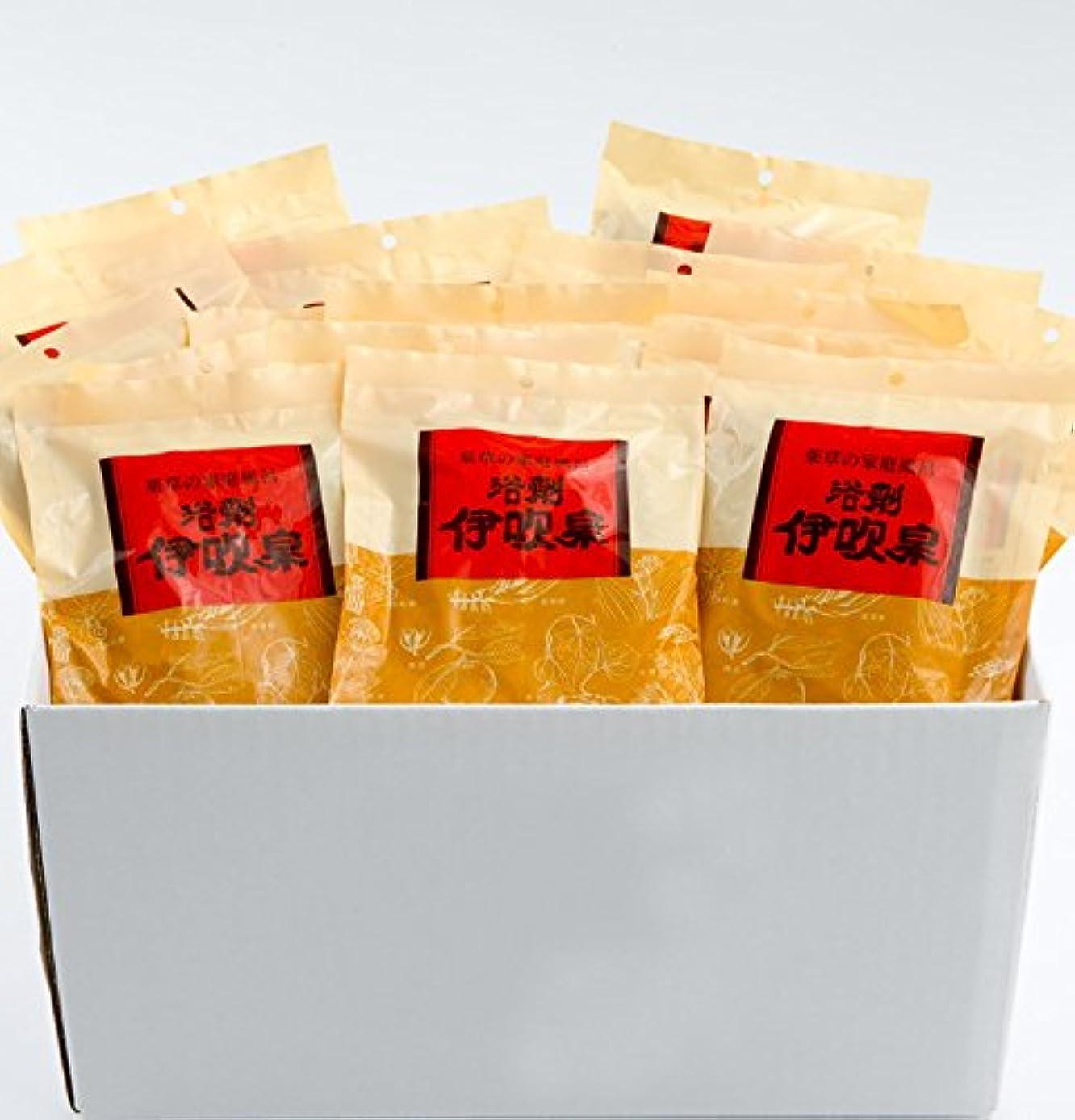 円形のホーム高層ビル浴剤 伊吹泉 ~薬草の家庭風呂~ 15袋(30包)セット