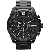 Diesel Men's Mega Chief Analog Analog-quartz Black Watch, (DZ4283)